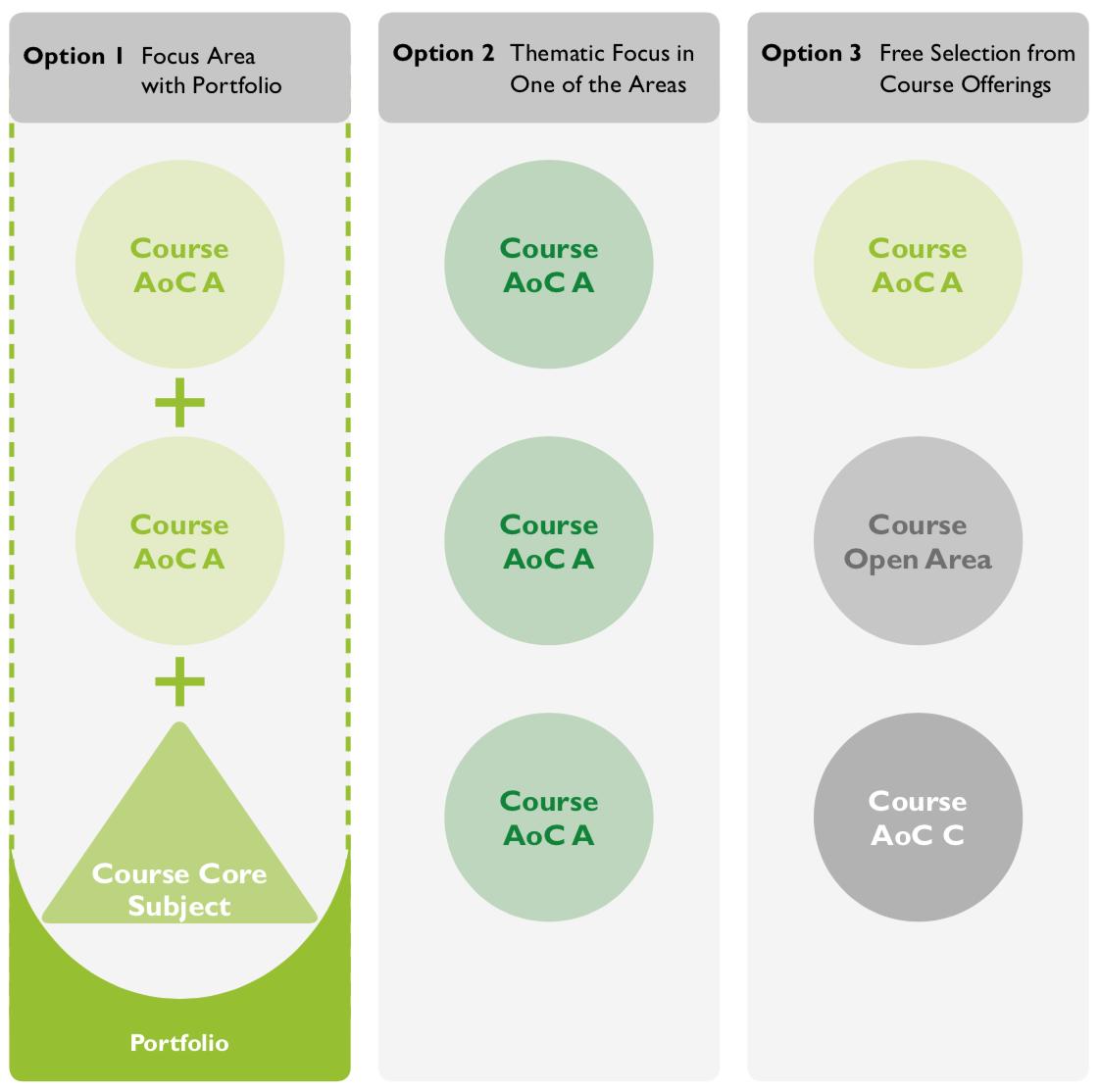 Options in Contextual Studies