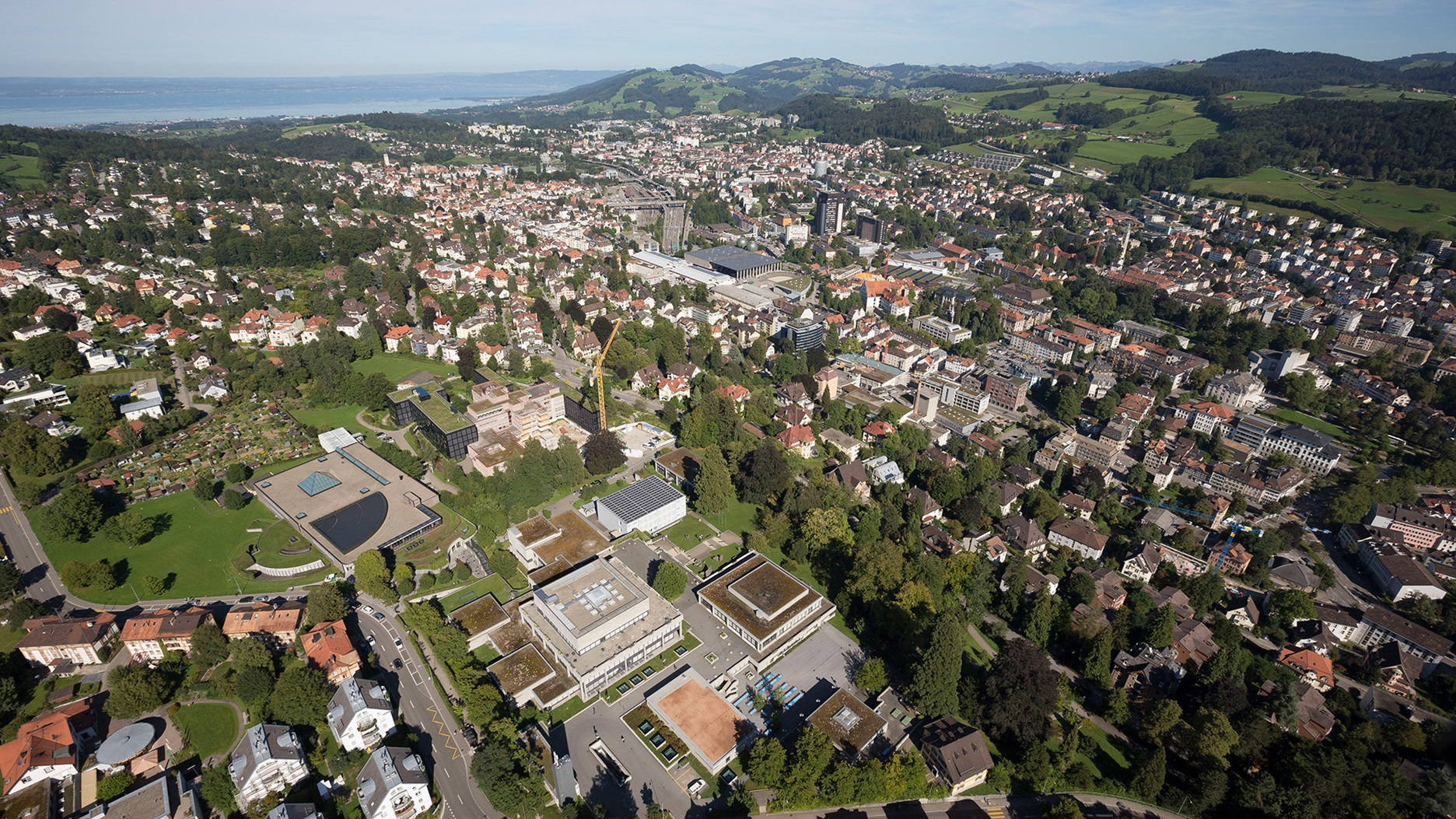 panorama photo St.Gallen