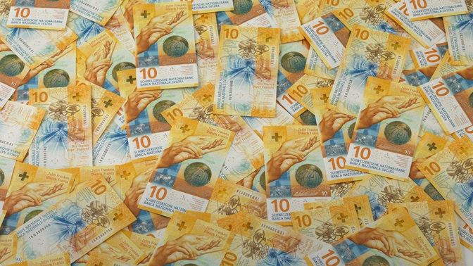 New 10-franc note